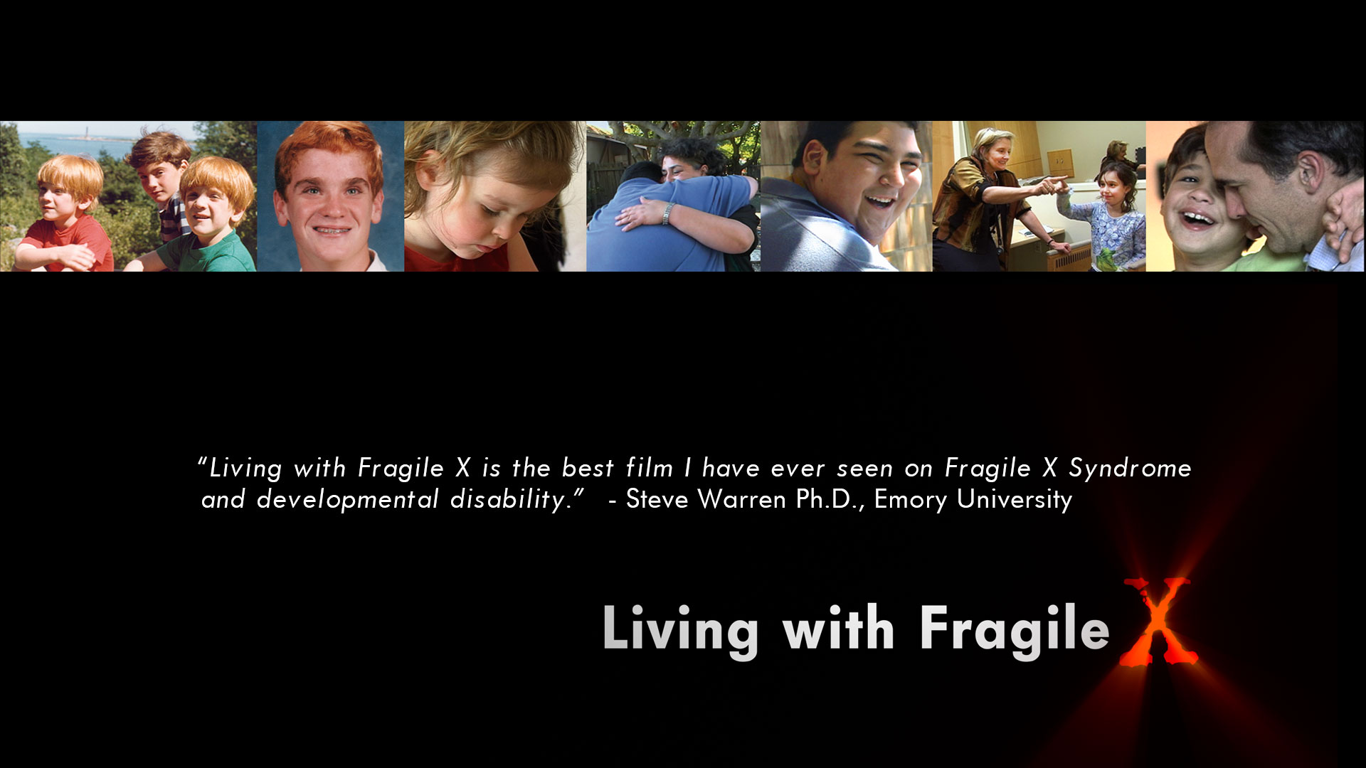 Watch Living with Fragile X Documentary